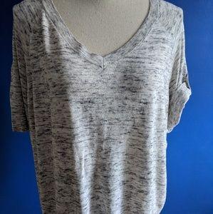 Talbots cotton short sleeved sweater